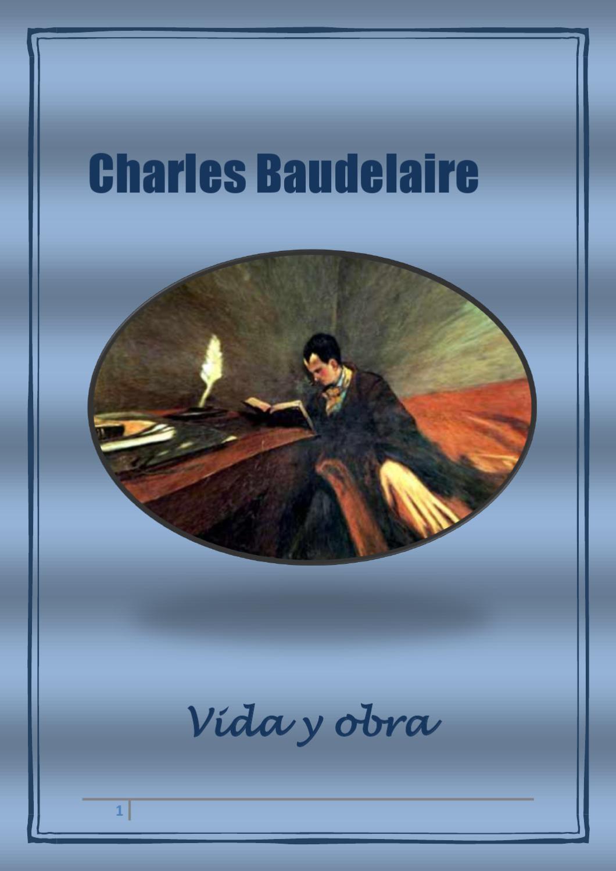 Charles Baudelaire By Elisa Montero Issuu