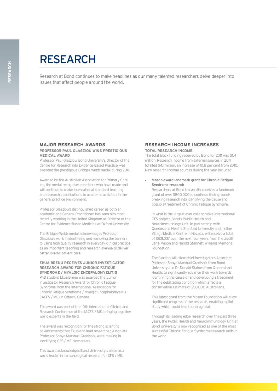 Bond University Annual Report 2011 by Bond University - issuu