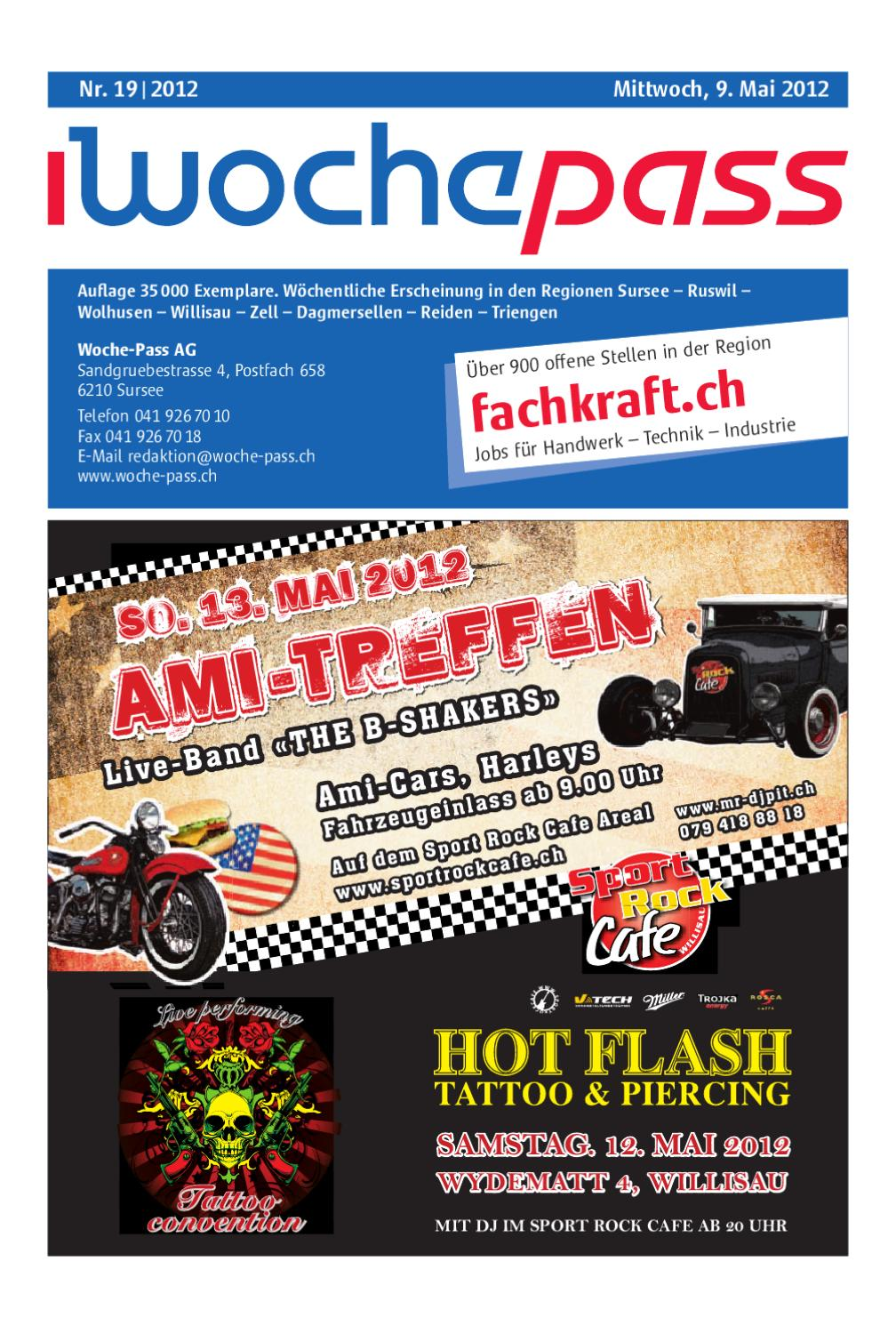Woche Pass | KW19 | 9. Mai 2012 By Woche Pass AG   Issuu