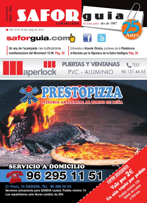 Semana Del 10 Al 16 De Maig De 2012 By Saforguia Mediaserviocio  # Muebles Casal Tauste
