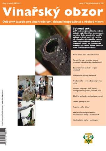 4d3125c3b3f Vinařský obzor 6 2005 by Časopis Vinařský obzor - issuu