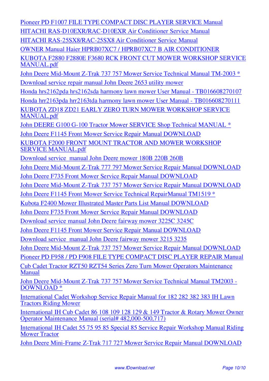 New Holland Nh 1412 Flail Disc Mower Conditioner Parts Manual 55141210nf Pdf By Giler Kong