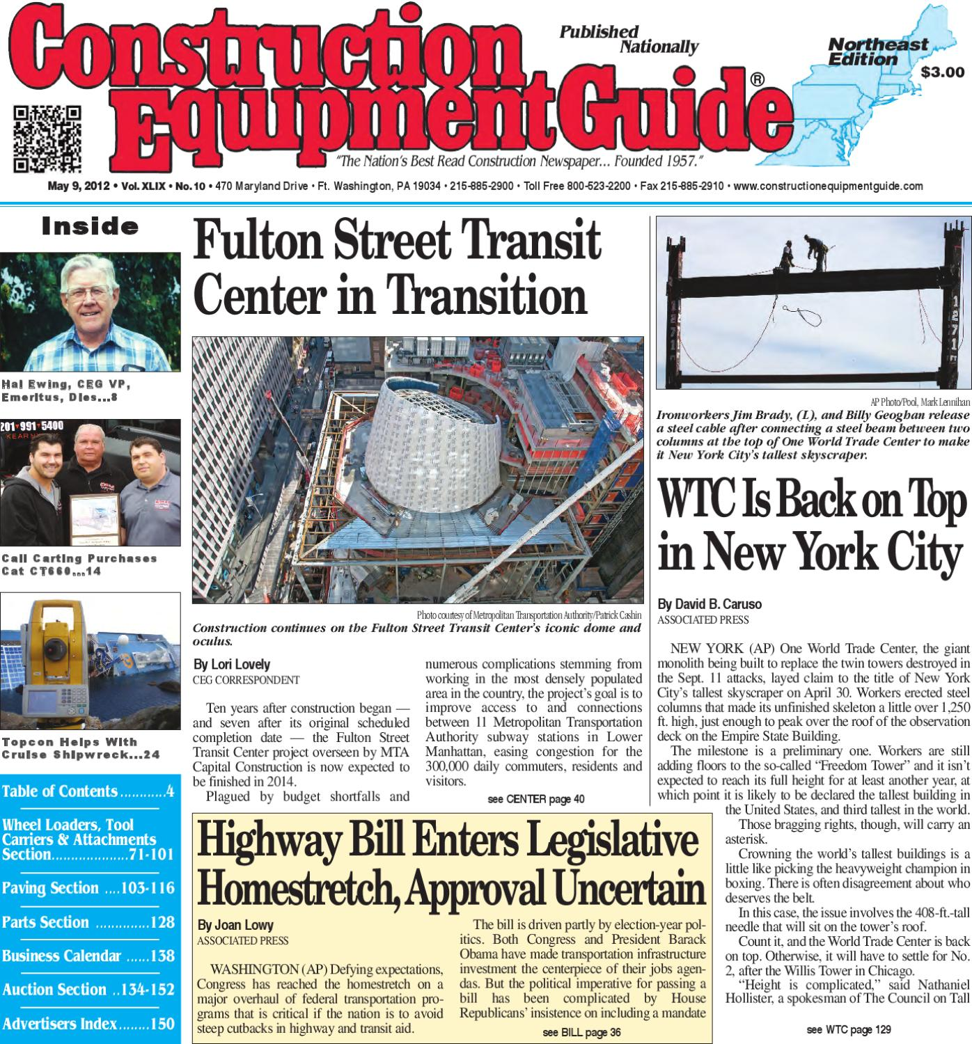 Northeast #10, 2012 by Construction Equipment Guide - issuu