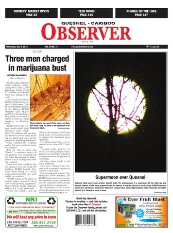 Quesnel cariboo observer may 09 2012 by black press issuu page 1 fandeluxe Images