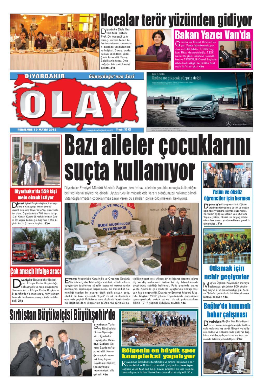 10 05 2012 Gazete Sayfalari By Diyarbakir Olaygazetesi Issuu