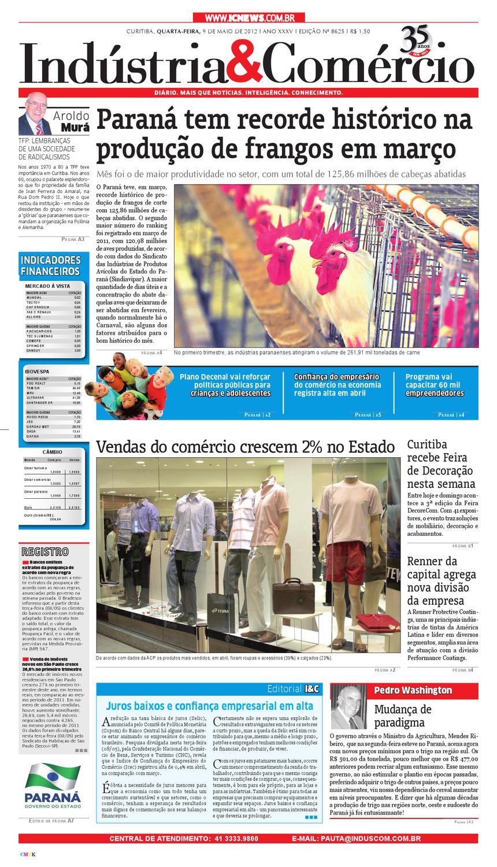 09-05-12 Jornal Indústria Comércio by Diário Indústria   Comércio - issuu cf72679bfaa0c
