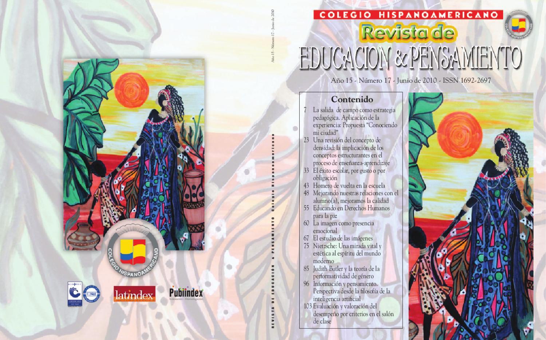 4b7f35fd19 Revista de Educación y Pensamiento N° 17 by Colegio Hispanoamericano - issuu