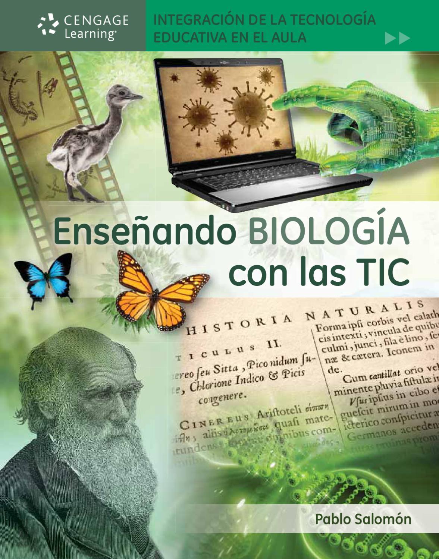 9789871486724 Enseñando BIOLOGÍA con las TIC. 1a. Ed. Pablo Salomón ...
