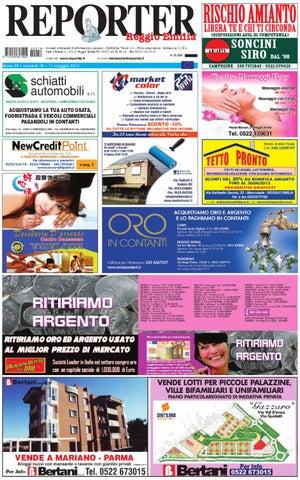 Reggio Emilia Giornale settimanale di informazione e annunci - Pubblicità   Trend S.r.l. - Fotocomposizione  Mediacoop S.C.R.L. Viale Olimpia bcea4fd011fb