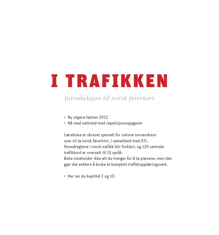 i trafikken introduksjon til norsk førerkort