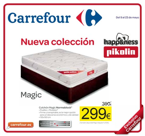 Catalogo carrefour colchones 2012 by Milyuncatalogos.  issuu
