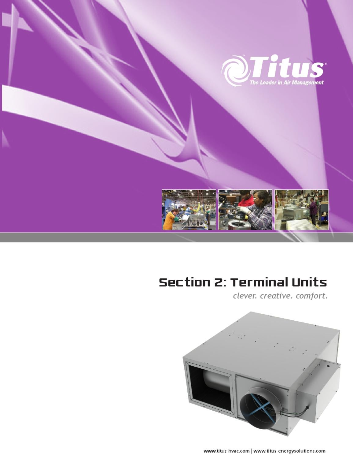 Terminal Units Catalog By Titus Hvac Issuu Pinout Diagram Furthermore Nema L6 30 Wiring On Serial Cable