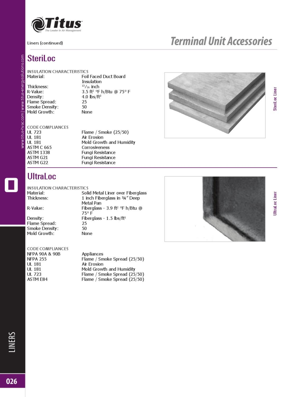 Terminal Units Catalog by Titus HVAC - issuu