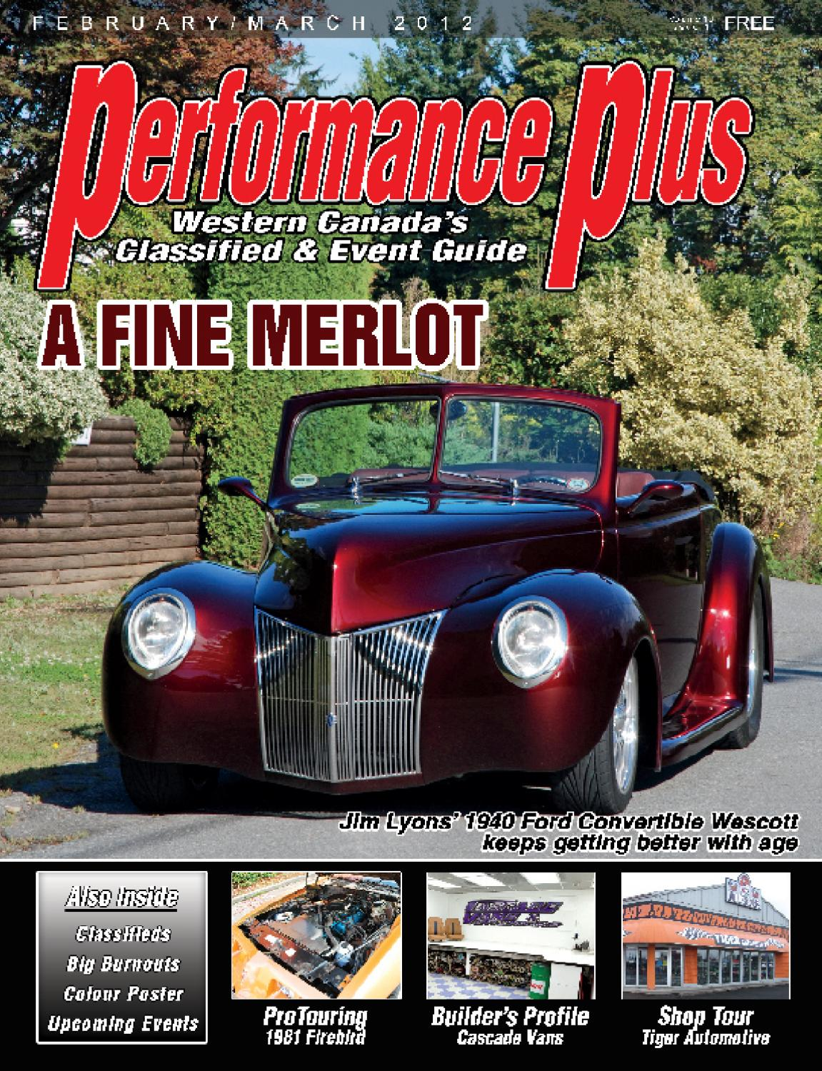 Performance Plus February March By Rpm Canada Issuu 1955 Ford F100 Volare Suspension