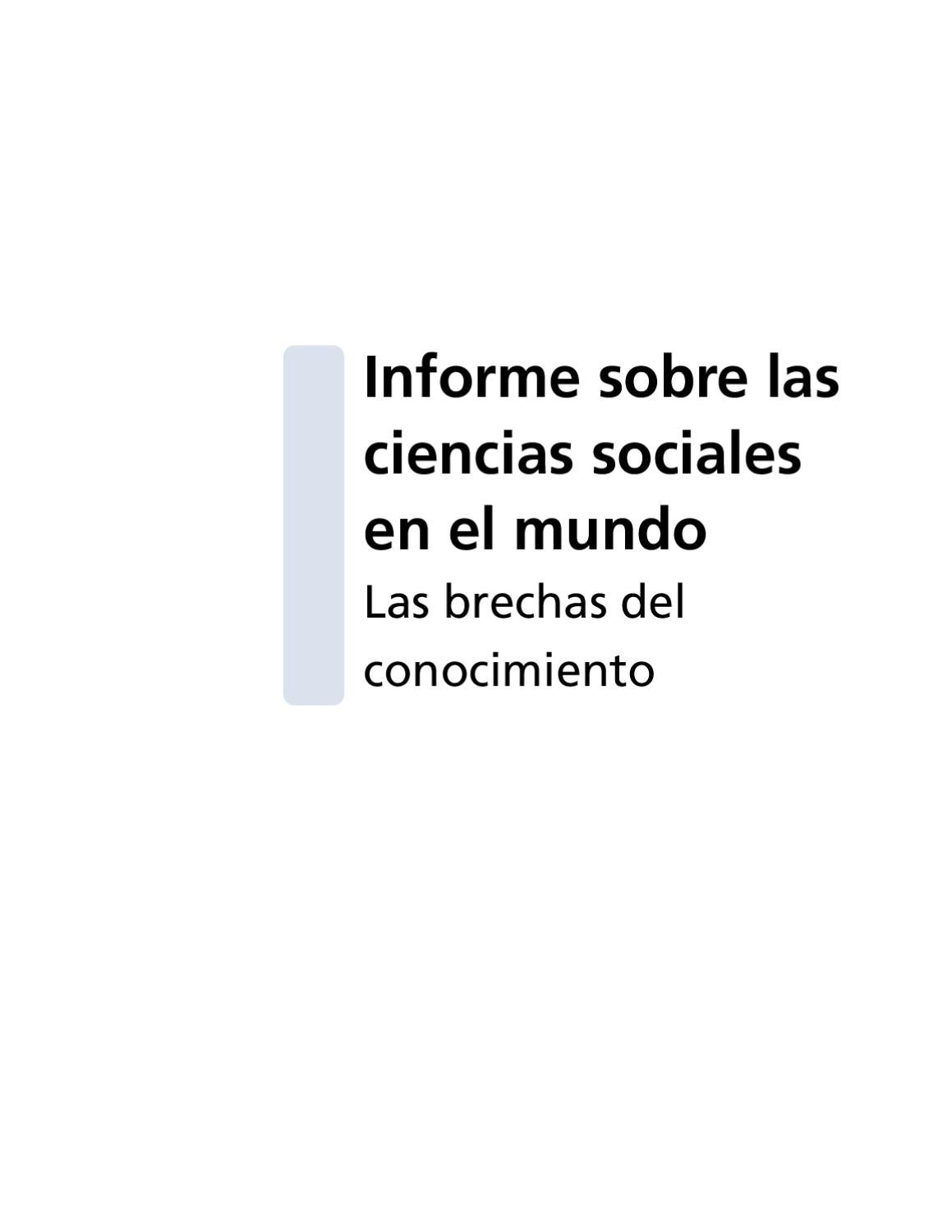UNESCO: Informe sobre cs by Jaime Nunez - issuu