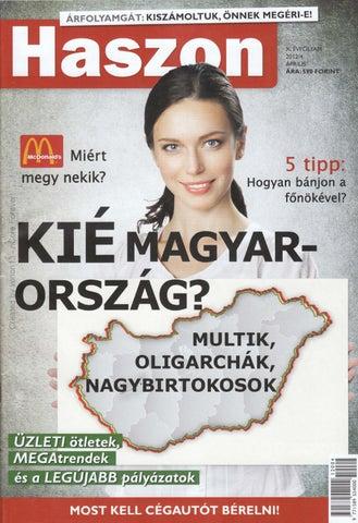 bb4c8c8e60 haszon magazin 2012 04 by boldogpeace by Boldog Peace - issuu