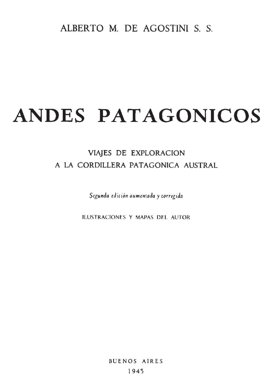 Andes Patagónicos by rodolfo manzo - issuu