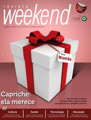 Revista Weekend - Edição 129 by Carleto Editorial - issuu 5c411c7635eb2