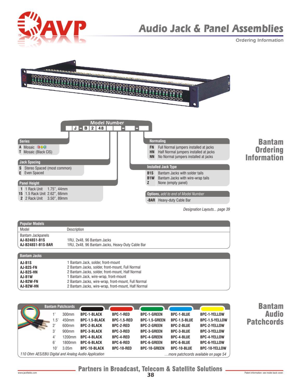 avp catalogue english by lola calero issuu rh issuu com Home Phone Wiring Diagram Headphone Jack Wiring Diagram