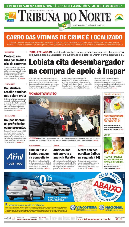 cd2b1ddd20b Tribuna do Norte - 11 05 2012 by Empresa Jornalística Tribuna do Norte Ltda  - issuu
