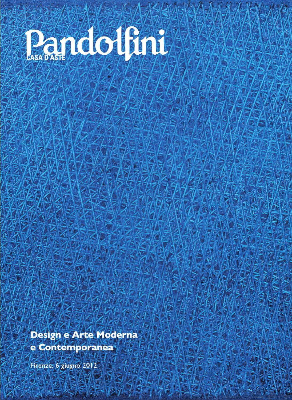 Asta di design e arte moderna e contemporanea by for Manolo de giorgi
