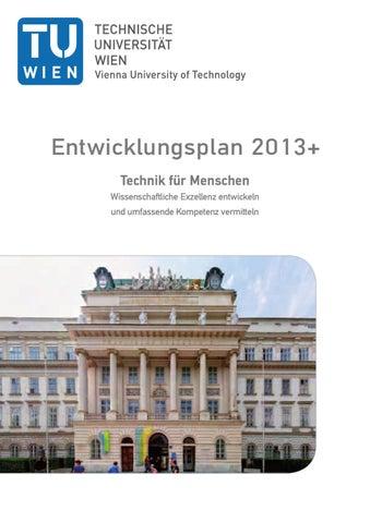 Entwicklungsplan 2013+ by TU Wien - issuu