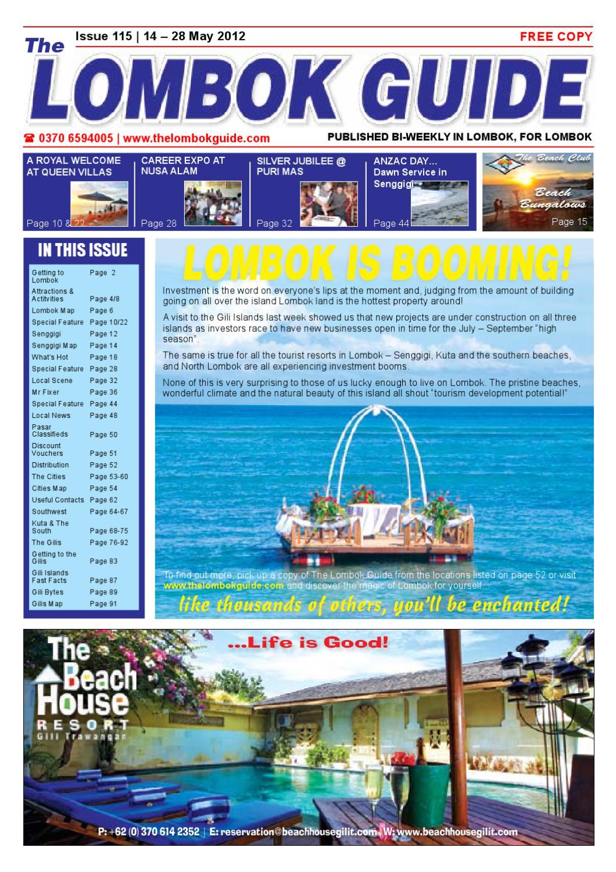 The Lombok Guide Issue 115 by The Lombok Guide - issuu