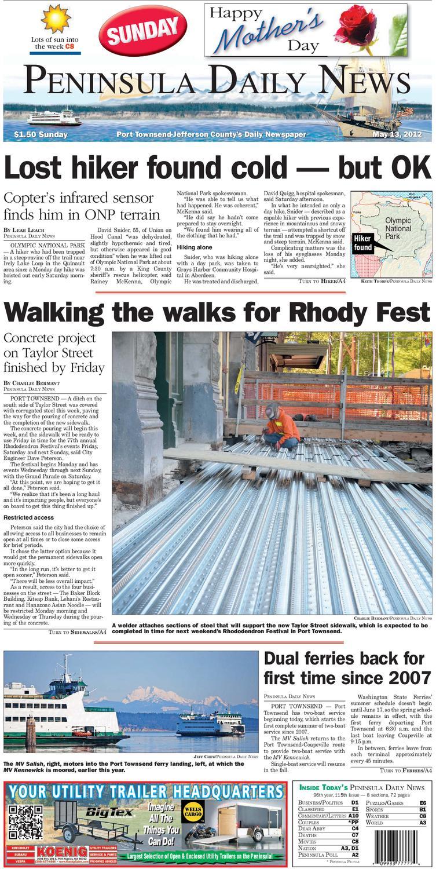 Pdn20120513j By Peninsula Daily News Sequim Gazette Issuu Disassemble Johnny 5 Nova Project J5 Five Aluminum Robot V