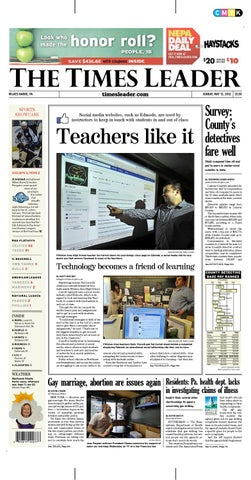 purchase cheap 0b3c5 219cf Times Leader 05-13-2012 by The Wilkes-Barre Publishing Compa
