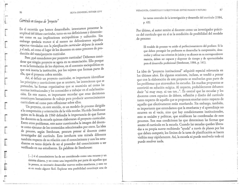 Grinberg Y Levy - Pedagogia Curriculo Y Subjetividad 2 (scan) by ...