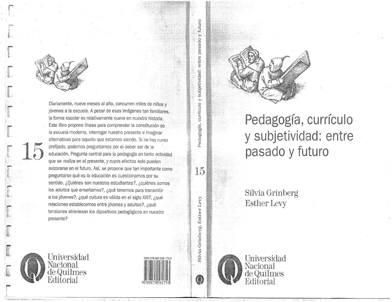 Grinberg Y Levy - Pedagogia Curriculo Y Subjetividad 1 (scan) by ...