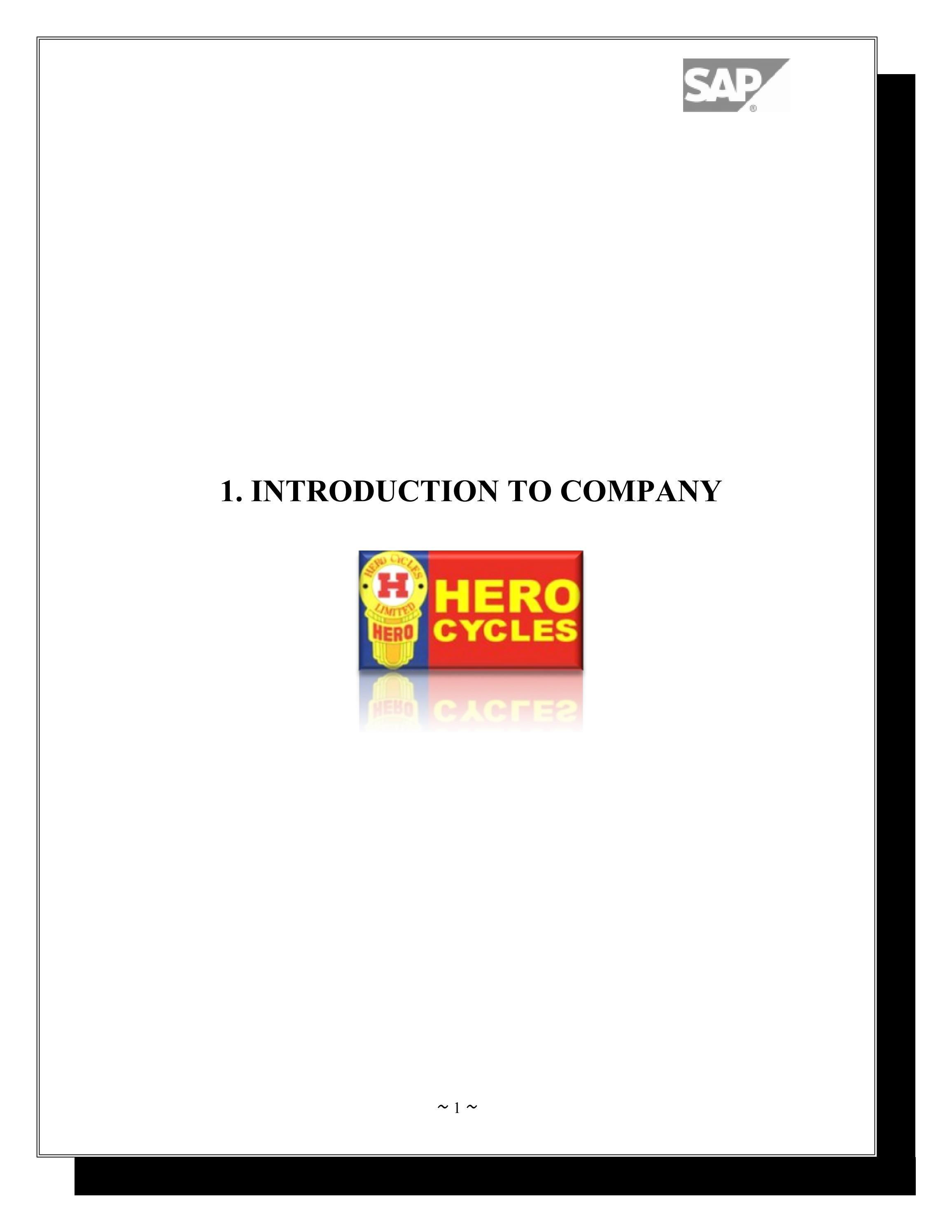 ERP in Hero Cycles by Sanjay Gupta - issuu
