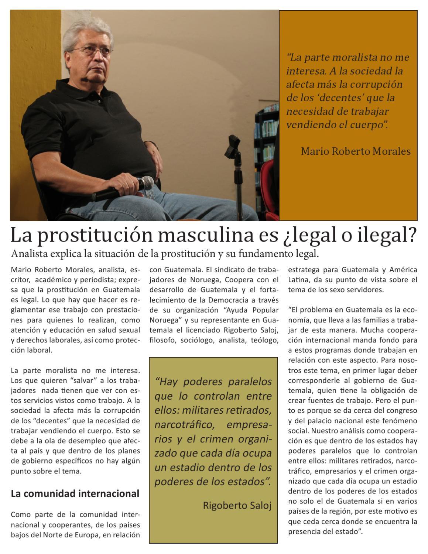 prostitución legal o ilegal prostitutas en la gomera