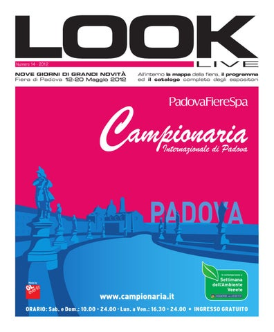 sports shoes 0ecae 2986f Look Campionaria by PadovaFiere SpA - issuu