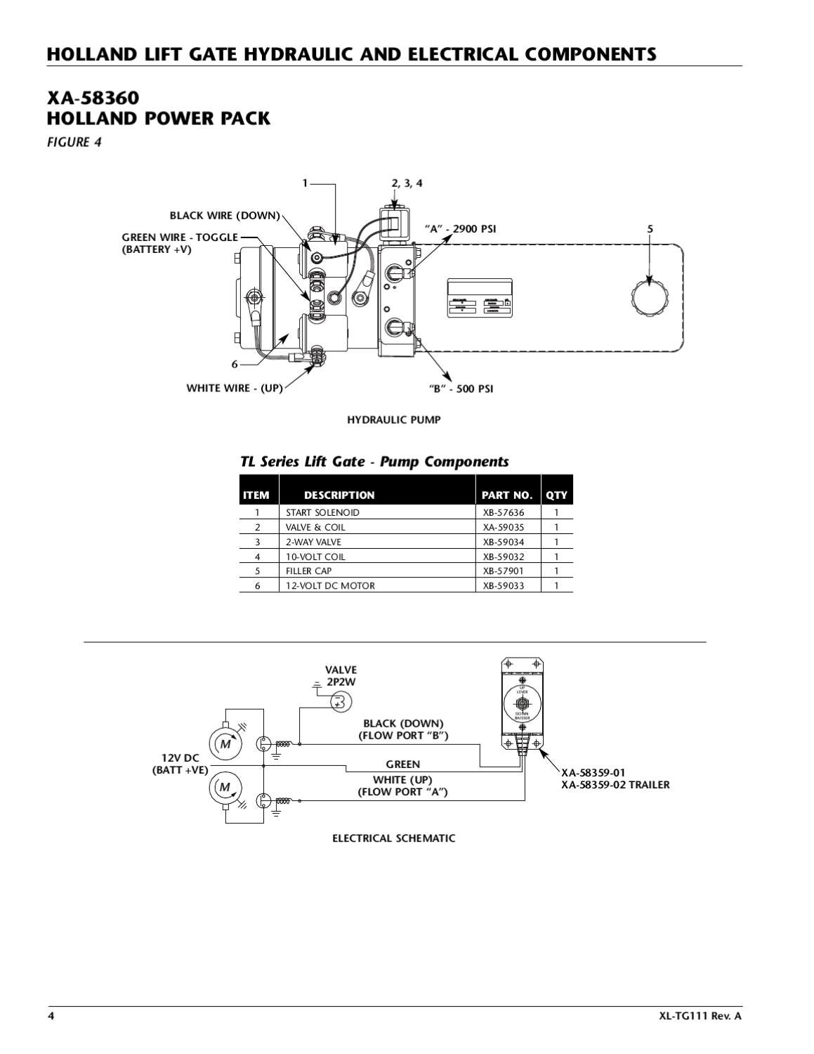 Saf Holland Tl Series Liftgate By The Parts Co Issuu 12 Volt Solenoid Wiring Diagram Sel