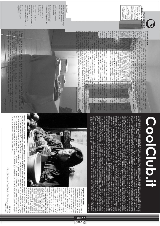 2431f5c342 Coolclub.it n.1 (Febbraio 2004) by Coolclub.it - issuu