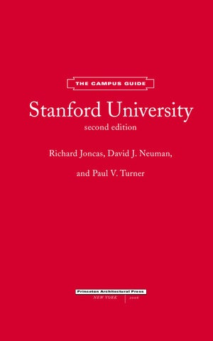Stanford University, The Campus Guide by Princeton