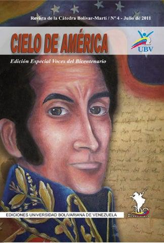 05120778d3d95 Cielo de América 4 by Universidad Bolivariana de Venezuela UBV - issuu