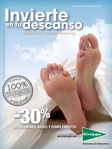 Precios Colchones Viscoelasticos Corte Ingles.Catalogo Del Corte Ingles De Ofertas Y Precios En Colchones Bases Y