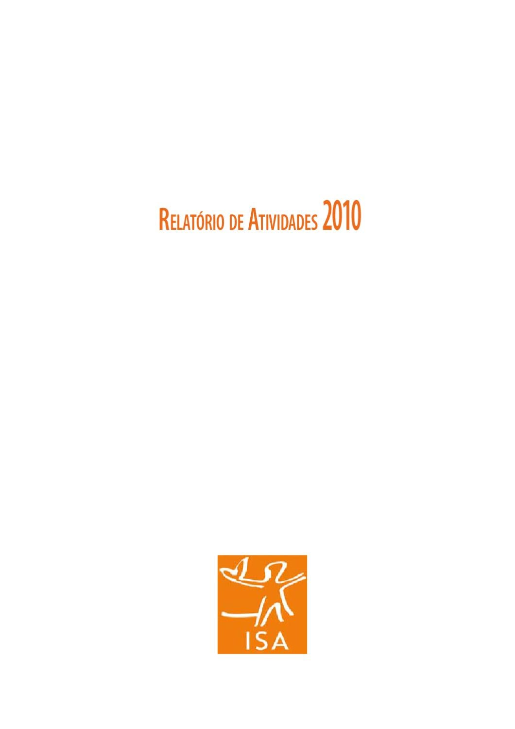 relISAfinal by Instituto Socioambiental - issuu a9fc6ac43c