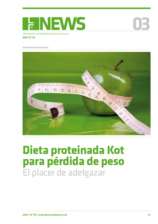 Sistema proteinado para bajar de peso