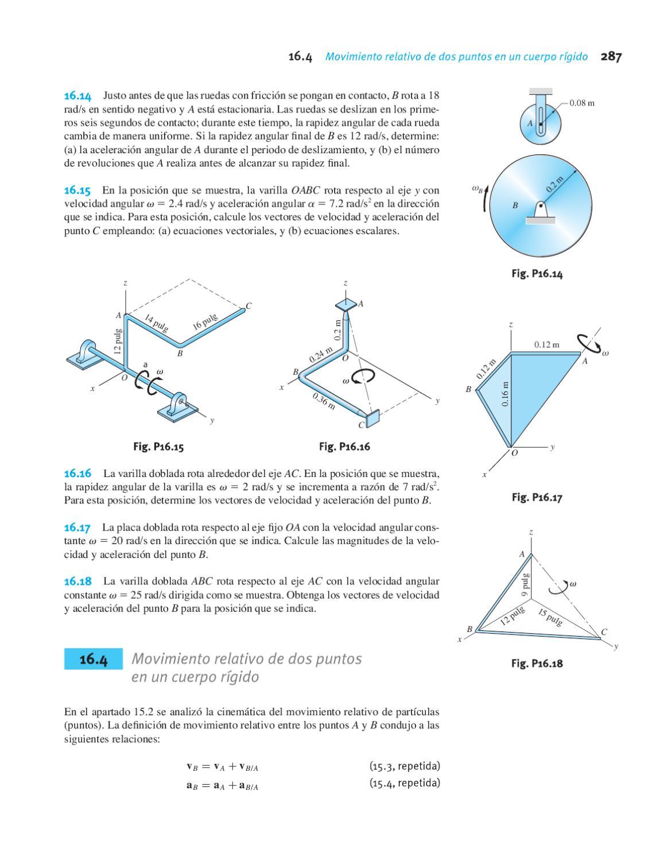 Ingeniería Mecánica. Dinámica. Tercera edición. Andrew Pytel & Jaan ...