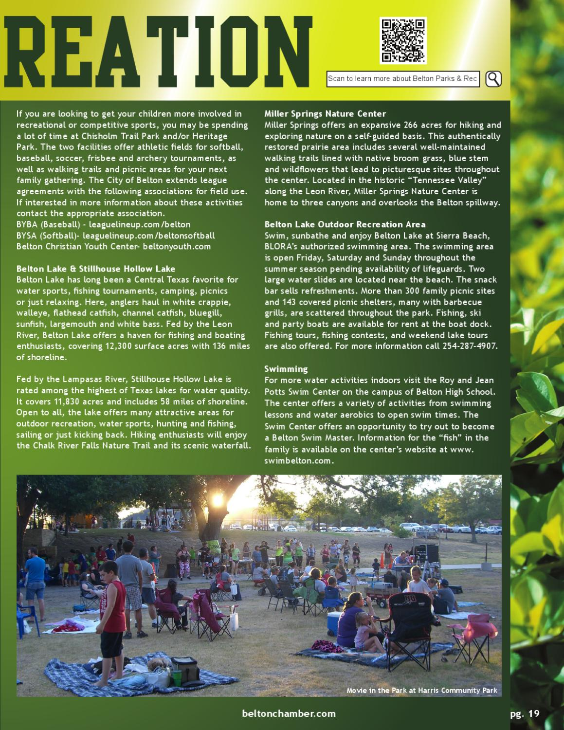 Belton Area Chamber of Commerce Community & Business Guide
