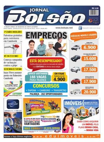 Ed. 463 by Bolsão Jornal - issuu e11e179f47