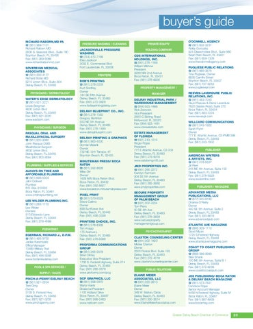Guide to delray beach directory 20122 by passport publications page 91 malvernweather Choice Image