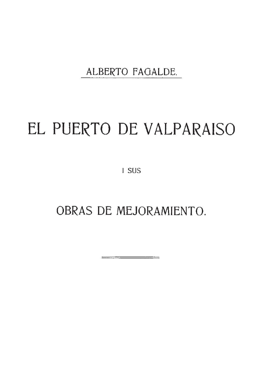 El Puerto De Valpara So Y Sus Obras De Mejoramiento By Rodolfo  # Muebles Loa Sur Ancud