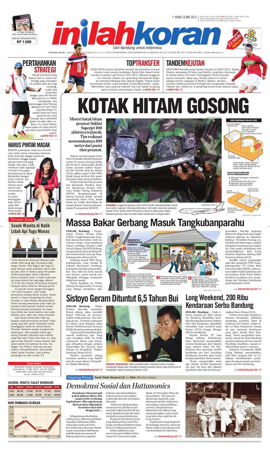 KOTAK HITAM GOSONG By Inilah Koran Issuu