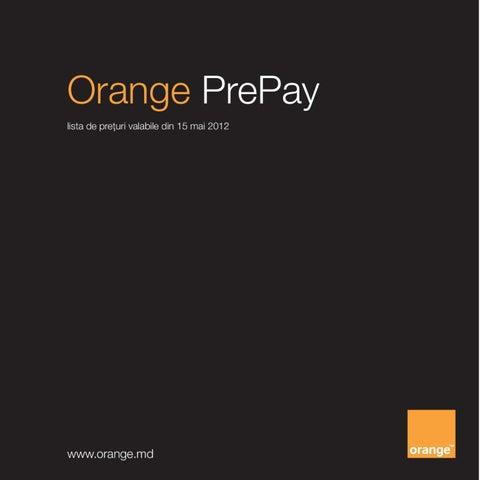 puncte orange prepay