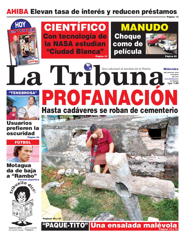 LA TRIBUNA 16052012 by Pedrito Juaz Juaz - issuu 871b5dcf3315a