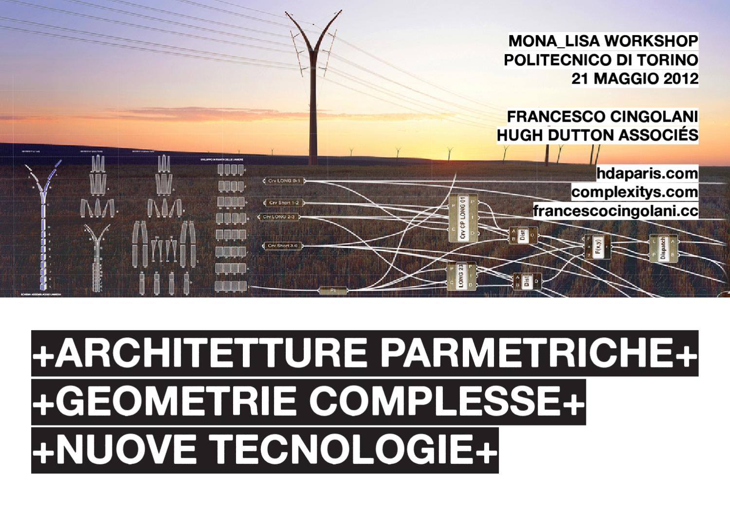 Parametric design complex geometries new technologies for Modernisme architecture definition